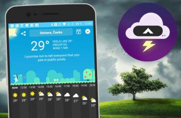 Bláznivá předpověď počasí CARROT Weather přichází z iOS na Android