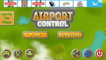 Dva režimy hry Airport Control