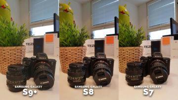 Fotoaparat sony - jak fotí samsung galaxy S7 galaxy S8, galaxy S9