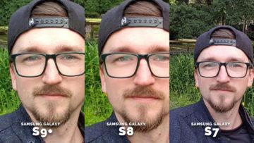 Selfie kamera test Galaxy S7, Galaxy S8, Galaxy S9