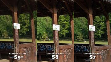 Jak fotí samsung galaxy S9 - znacka