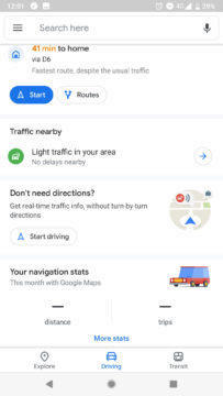 Google Mapy Material design novinka