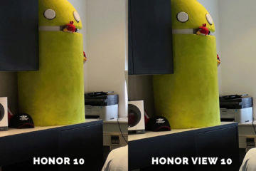 Honor 10 vs. Honor View 10 android test fotoaparatu