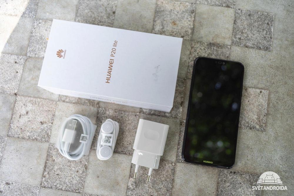 Huawei P20 lite balení