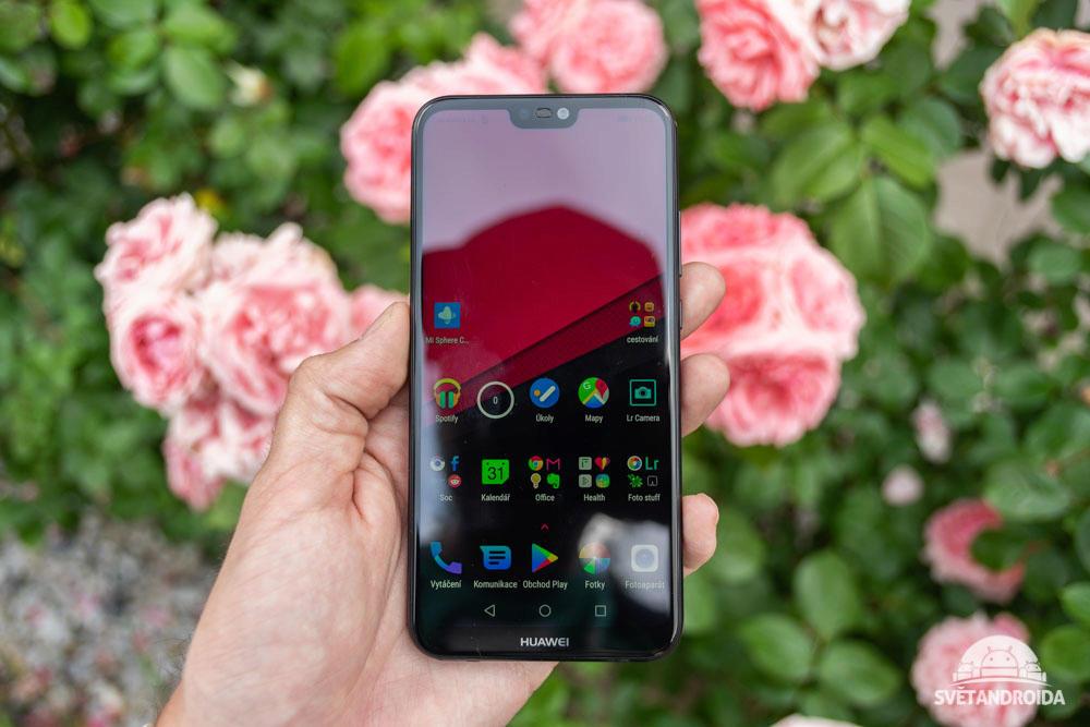 Huawei P20 lite přední strana