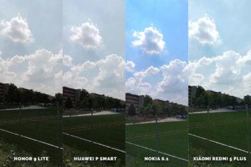 Huawei vs Honor vs Xiaomi vs Nokia fototest hriste