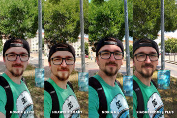 Huawei vs Honor vs Xiaomi vs Nokia fototest selfie