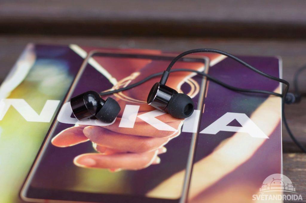 Nokia 7 Plus sluchátka