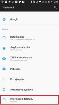 Informace o telefonu Fake GPS Joystick