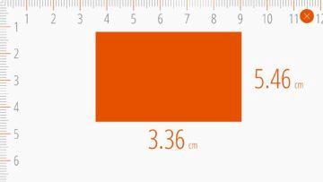 Ruler Android - Měření čtyřúhelníku