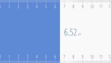 Ruler Android - Měření od nuly k bodu