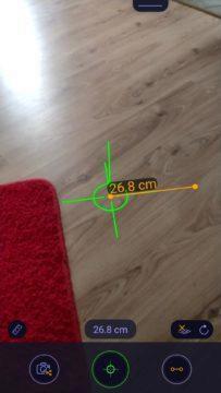 Měření vzdálenosti ARuler