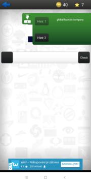 Nápovědy za hvězdičky Logo Quiz Ultimate