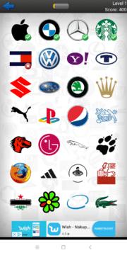 Nabídka log Logo Quiz Ultimate
