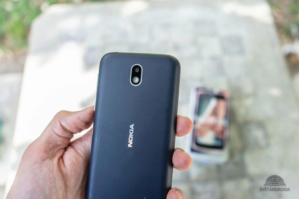 Nokia 1 fotoaparat