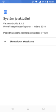 Nokia 7 plus systém