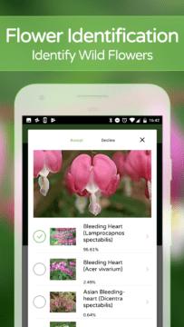 PlantSnap aplikace