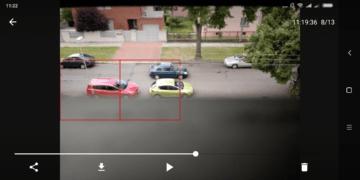 Prohlížení narušení Výběr role Přihlášení účtem Google Úvodní nastavení Security Camera