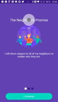 První sousedský slib Google Neighbourly