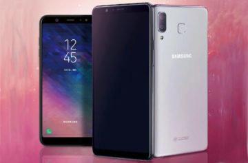 Samsung Galaxy A9 Star představen: Velký AMOLED displej a netradiční procesor