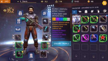 Shadowgun Legends nej vybaveni zbrane