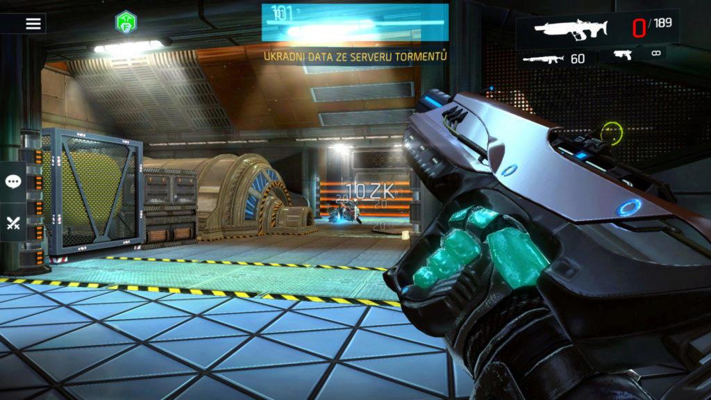 Shadowgun Legends recenze android hra
