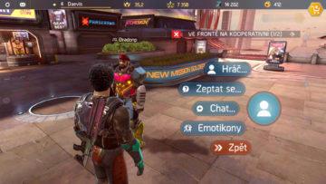 Shadowgun Legends socialni prvky