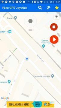 Takto lze falšovat polohu Fake GPS Joystick