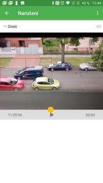 Sledujeme narušení Výběr role Přihlášení účtem Google Úvodní nastavení Security Camera
