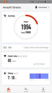 Xiaomi Amazfit 2 vydrží 3 dny
