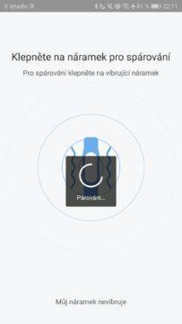 Xiaomi Mi Band 3 párování