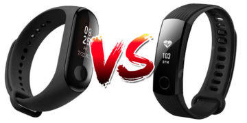 Xiaomi Mi Band 3 vs Honor Band 3