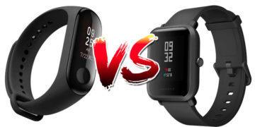 Xiaomi Mi Band 3 vs Xiaomi Amazfit Bip