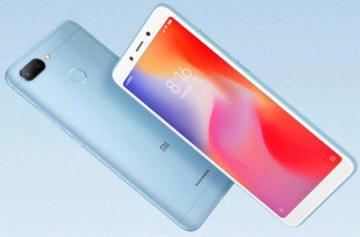 Xiaomi Redmi 6 představen: 18:9 displej, Oreo a duální fotoaparát za nízkou cenu