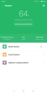 Xiaomi Redmi Note 5 baterie 1