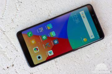 Xiaomi Redmi Note 5 displej