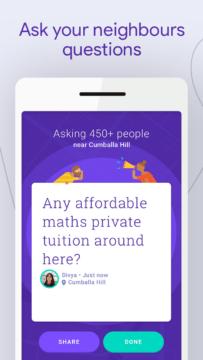 Zeptejte se svých sousedů v Google Neighbourly