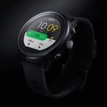amazfit stratos displej