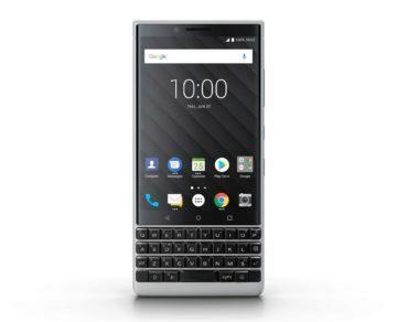 blackberry key2 cena