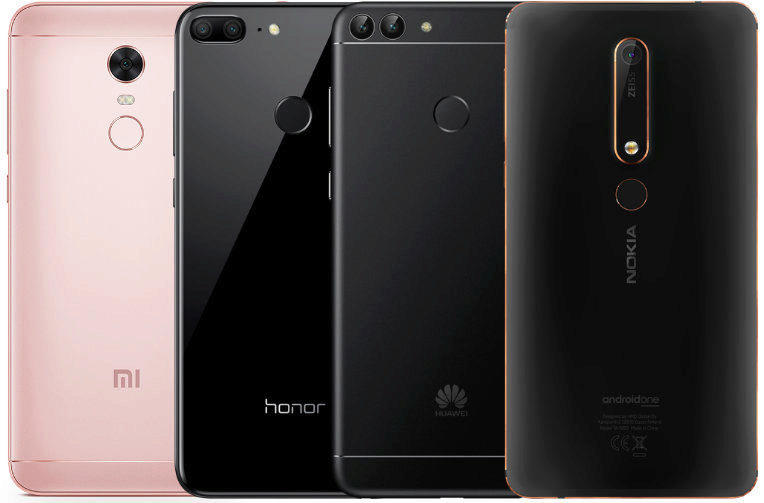 fototest levnych telefonu xiaomi honor huawei nokia