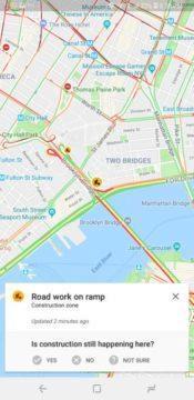 google mapy waze funkce komunitni upozorneni na incidenty