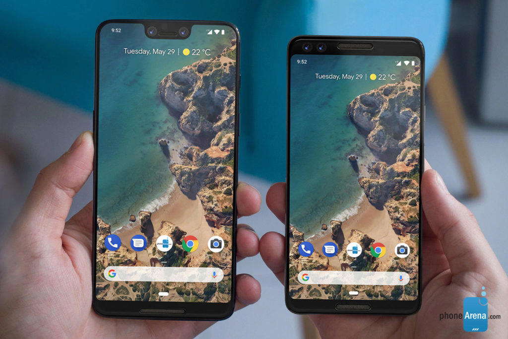 google pixel 3 google pixel 3 xl render