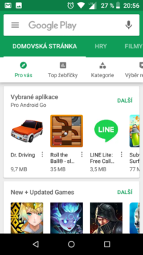 google play android go