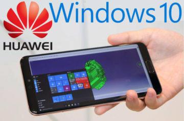 Huawei telefony poběží i s Windows 10. A to s pomocí cloudu