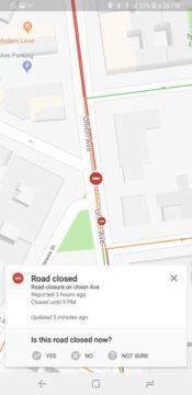 komunitni upozorneni na incidenty google mapy