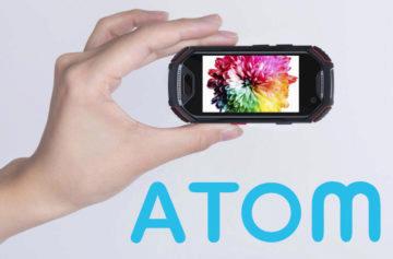 Atom představen: Miniaturní odolný telefon má perfektní parametry i výbavu