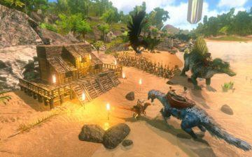 mobilni hra ark survival evolved