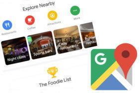 novy vzhled aplikace google mapy