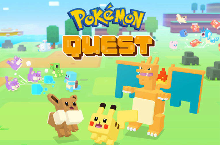 pokemon quest android ios hra