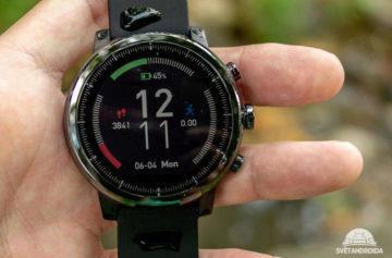 Xiaomi Amazfit 2 recenze: Stylové chytré hodinky s podporou plavání i GPS